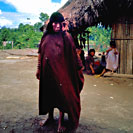 Ashaninka Woman taking photo