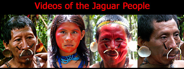 Videos of the Jaguar People Tribe | Matis Amazon Indian Tribe