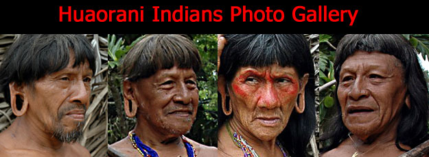 Photographic Gallery of the Huaorani Tribe