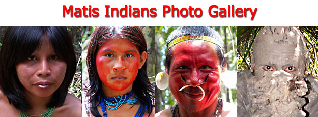 Matis Indians Photo Gallery