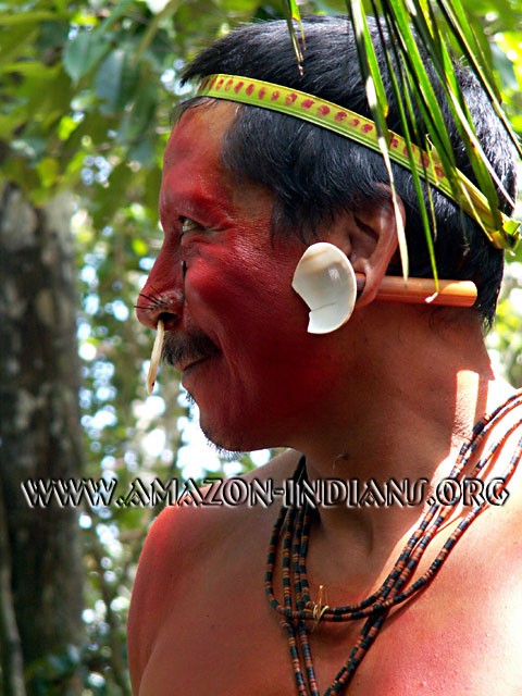 amazonian indian shaman