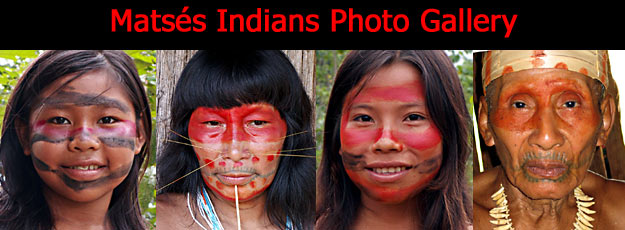 Matses Indians Photo Gallery