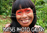 Matses Native Tribe Photogallery