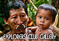 Explorers Club Photogallery - Matis Indian Amazon Native Tribe