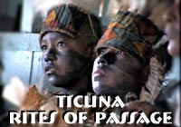 Ticuna Native Rites of Passage
