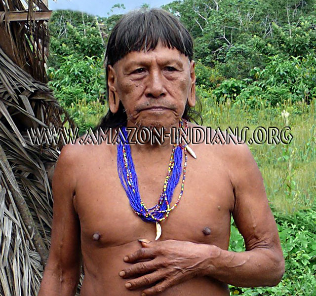 Huaorani Amazon Naked