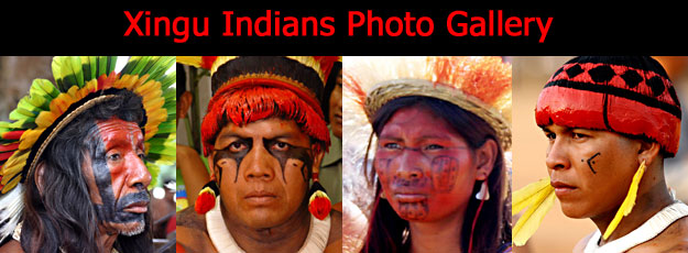Xingu Indians Photographic Gallery